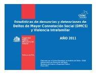 y Violencia Intrafamiliar AÑO 2011 - Subsecretaría de Prevención ...