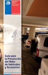 Guía para la Prevención del Robo de vehículos y accesorios