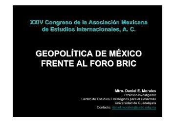 GEOPOLÍTICA MÉXICO
