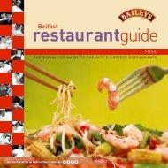 Restaurant guide, pdf - Queen's University Belfast