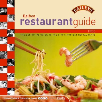 Restaurant guide, pdf - Queen's University Belfast
