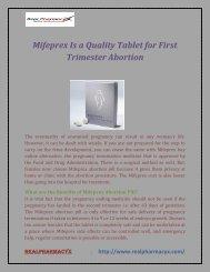 Mifeprex Online Tablets