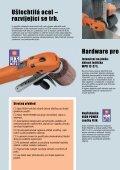 Broušení a leštění pro profesionály v oblasti ušlechtilé oceli - Page 2