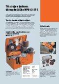 Broušení a leštění pro profesionály v oblasti ušlechtilé oceli - Page 4