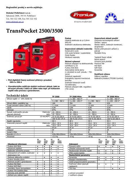 TransPocket 2500/3500