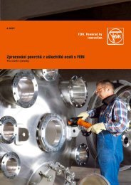 Zpracování povrchů z ušlechtilé oceli s FEIN