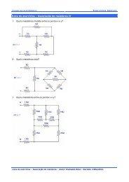 Associação de resistores 2 - Clube da Eletrônica