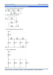 Associação de resistores I 1 - Clube da Eletrônica