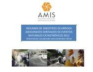 NATURALES CATASTRÓFICOS 2012