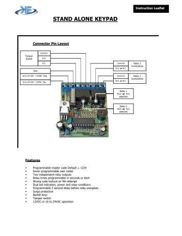 technical data information serial tamper proof keypad. Black Bedroom Furniture Sets. Home Design Ideas