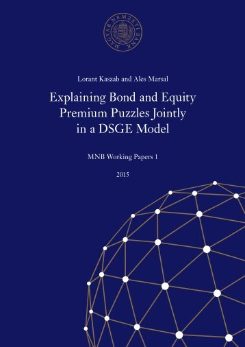 Explaining Bond and Equity Premium Puzzles Jointly in a DSGE Model