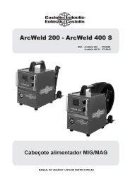 ArcWeld 200 - ArcWeld 400 S