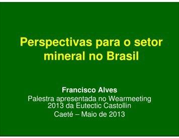 mineral no Brasil