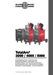 TotalArc 3000 / 4000 / 5000