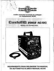 CastoTIG 2002 AC/DC - Eutectic