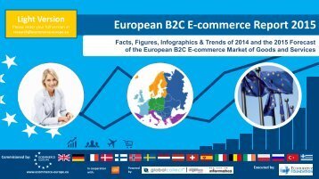 European B2C E-commerce Report 2015