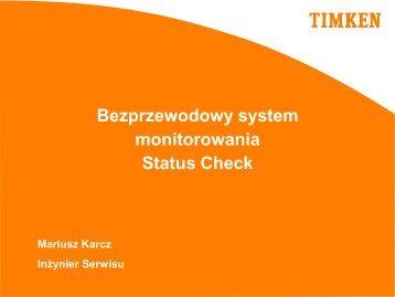 monitorowania Status Check