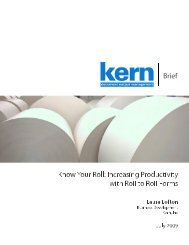 Looking for ways to save money on your production floor? - Kern