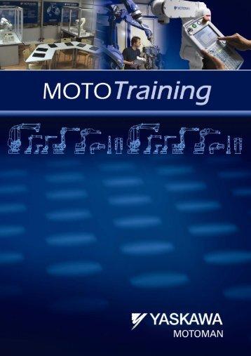 Cursos abiertos de formación MOTOMAN XRC