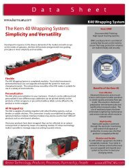 The Kern 40 Wrapping System Simplicity and Versatility