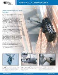 QRTEX WALL CLIMBING ROBOT - Asimo.pl