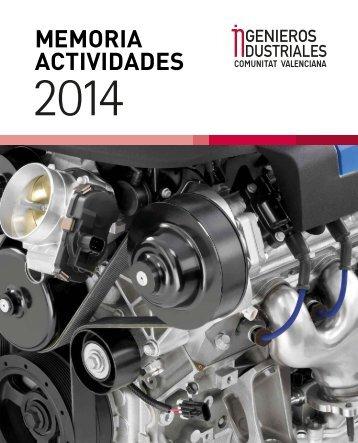 IICV · Memoria de actividades 2014