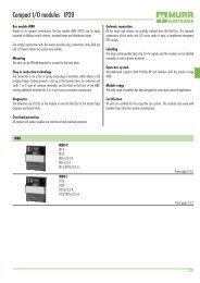 Compact I/O modules IP20