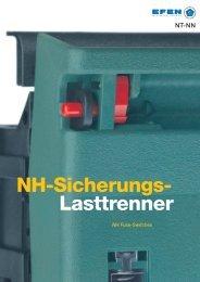 NH-Sicherungs- Lasttrenner