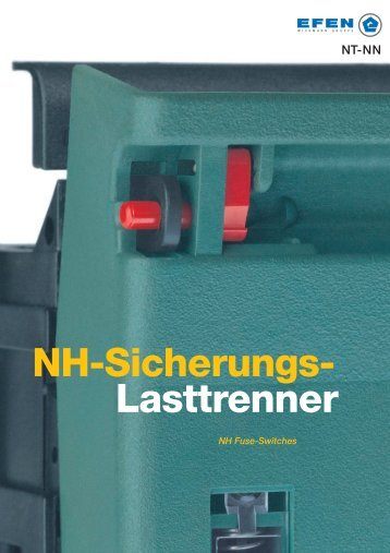 NH-Sicherungs- Lasttrenner