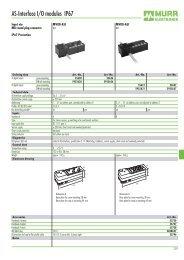 AS-Interface I/O modules IP67