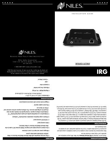 RCA-TT2 - Niles Audio on rca remote programming, rca accessories, rca service manual, rca schematics, rca audio diagram, rca plug wiring, rca pinout diagram, rca jack connector diagram, rca jack wiring, speaker diagram,