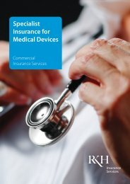 Specialist Insurance for Medical Devices
