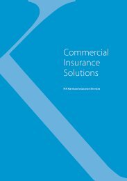 Commercial Insurance Solutions