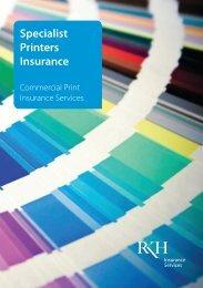 Specialist Printers Insurance