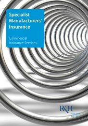 Specialist Manufacturers' Insurance