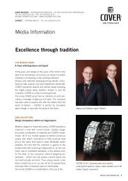 Media Information Excellence through tradition