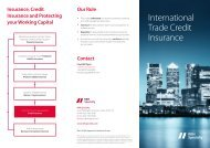International Trade Credit Insurance