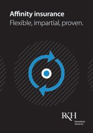 Affinity insurance Flexible impartial proven