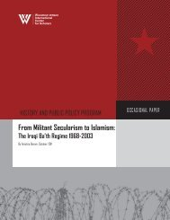 From Militant Secularism to Islamism
