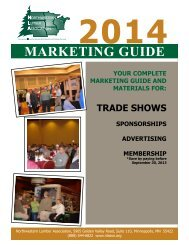 2014 Trade Show Marketing Guide - Northwestern Lumber ...