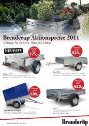 Brenderup Aktionspreise 2011
