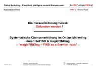 FIND as a Service (Faas) - Executive Summary - SoFIND - SoFIND.de