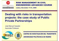 projects the case study of Public Private Partnerships
