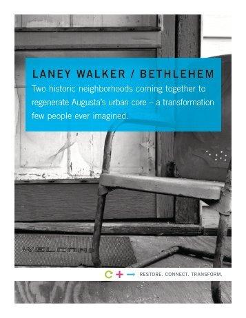 Laney Walker/Bethlehem Brochure