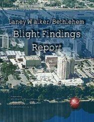 Blight Findings Report