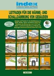 Leitfaden für die Wärme- und Schalldämmung von Gebäuden