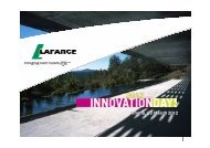 Sustainable construction - Lafarge
