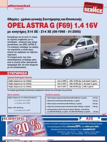 opel astra caravan g - tazak.cz
