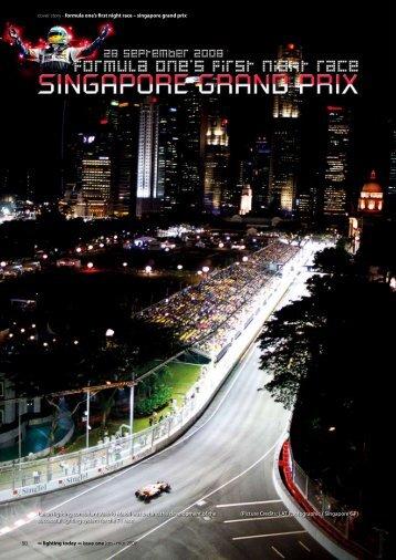 coverstory F1 Singapur