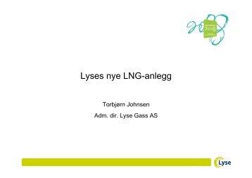 Lyses nye LNG-anlegg